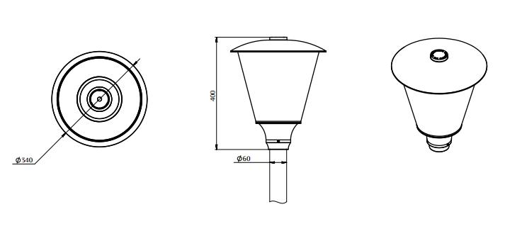 Прожектор светодиодный 20 вт уличный с датчиком